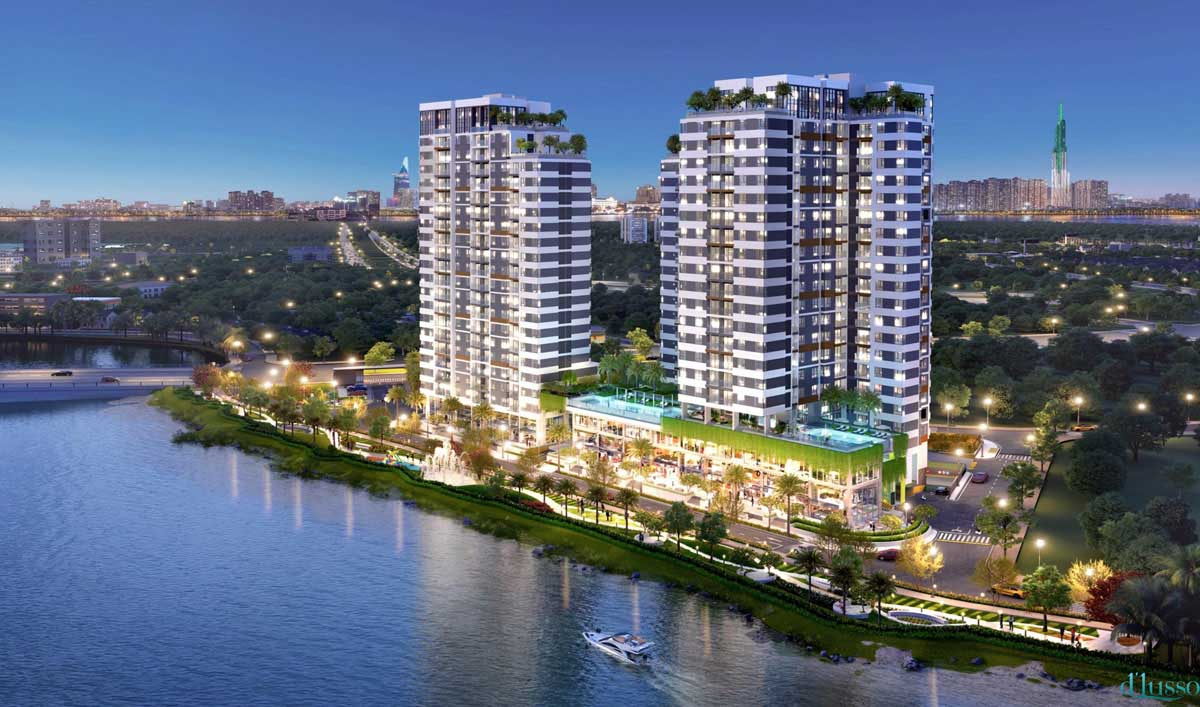D'Lusso Diamond Apartment Project in District 2