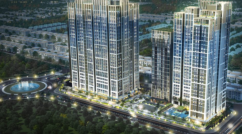 Opal Boulevard Apartment Shopping Center Project in Binh Duong Province